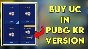 PUBG_How To Purchase UC In Pubg Mobile Korean Mobile_Midasbuy