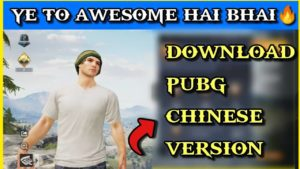 How To Download Game Of Peace (Pubg Chinese Version)