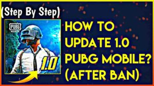 (APK+OBB) How To Update Pubg Mobile Erangle 1.0 Update After Ban?