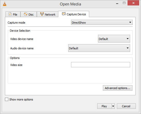 Vlc Media Player Screen Recorder Settings