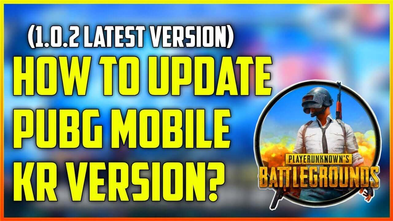 how to update pubg mobile kr