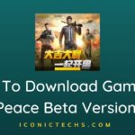 How To Download Game For Peace Beta Version?