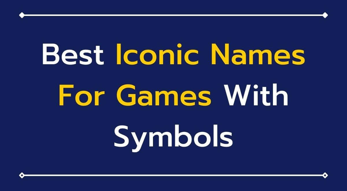 Read more about the article 101+ Best Iconic Names For PUBG BGMI With Symbols